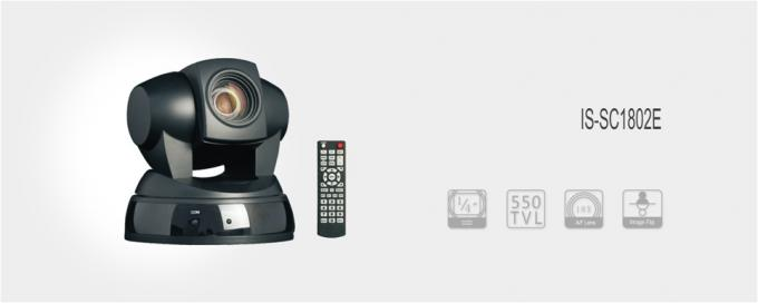 Remoter Controller PTZ Video Conference Camera Analog 18X Optical Zoom
