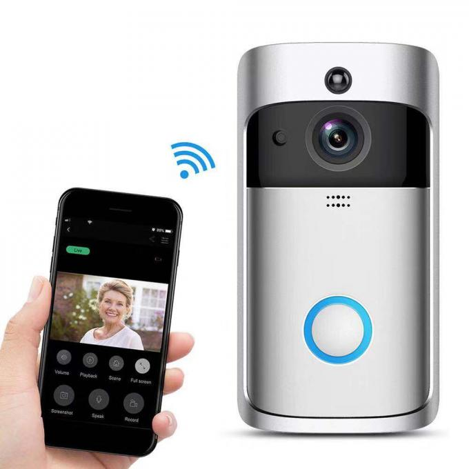 Home Wireless P2P IR Camera Smart Battery - Powered With IR Distance 5 Meters