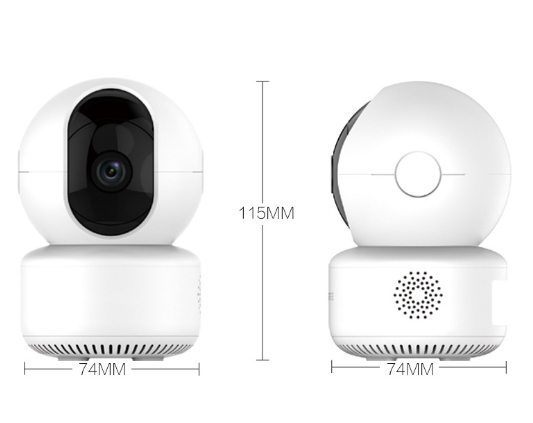 720P/ 1080P WiFi Smart Home Baby Monitor Auto Tracking Camera Support Onvif