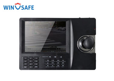 "China Custom RS485 USB PTZ Camera Controller High Reliability With 8"" LCD Screen supplier"