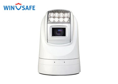 China Alumnimum Case 2.13MP Rugged Security Camera, Weatherproof PTZ Camera With Hidden Wiper supplier