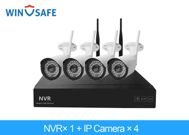 China Bullet HD Wireless IP Camera System Low Power Consumption With Lightning Protection supplier