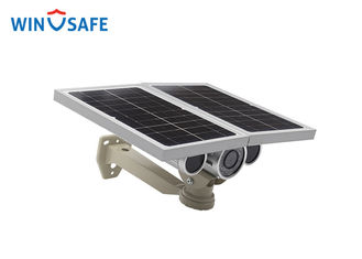 China 8mm Lens Remote Wireless Solar IP Camera Network 100 Meters Night Visibility supplier