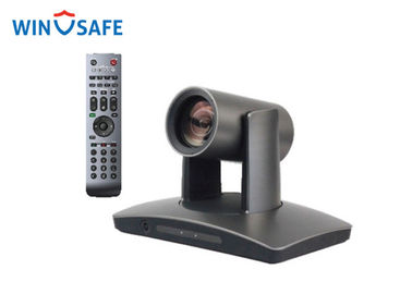 China Full HD Grey 1080P IP Auto Tracking PTZ Video Conference Camera With OSD Menu supplier