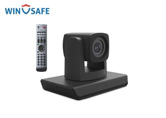 China Mini Wide Angle PTZ Balck Color USB Video Conference Camera for Small Conference Meeting supplier