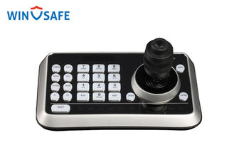 China 4D LED Disaplay RS232 / RS485 / Alarm Mini Joystick PTZ Controller for PTZ Speed Dome Camera supplier