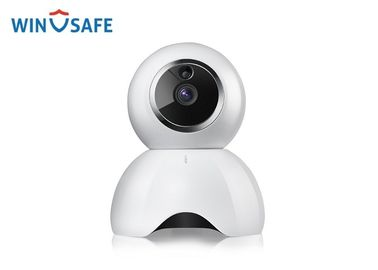 China Small Size Baby Care P2P Wireless IP Camera , 1080P White & Black Pan Tilt IP Camera supplier