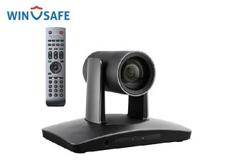 China 12X Optical Zoom USB Video Conference Camera With Wireless Microphone / IR Sensor supplier