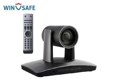 12X Optical Zoom USB Video Conference Camera With Wireless Microphone / IR Sensor