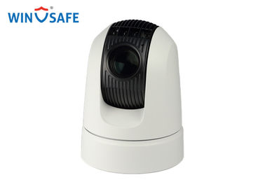 China HD-SDI / SD IR Vehicle PTZ Camera 1080p Waterproof IP66 Illumination 0.0008 Lux supplier