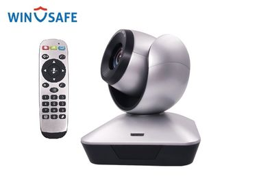 China 62.5° Angle Full HD PTZ Camera 1080P 2.0 USB Optical Zoom 10X 5MP Resolution supplier