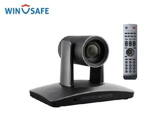 Grey 1080P HD Plug Play PTZ Video Conference Camera With Image Flip / DVI Output