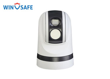 China PATC Dual Lens Rugged PTZ Camera IP67 Uncooled Amorphns Silicon FPA With Digital Gyro distributor