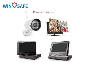 China Streams Simultaneous Wireless IP Camera System Smart High Definition distributor