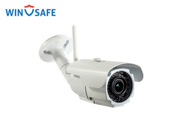 China Aluminum Body H.264 Full HD Wireless IP Camera Bullet Type CE FCC Certification factory