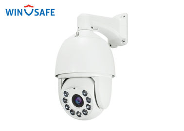 China Full HD 2.0 Megapixel IP Network Auto Tracking IR Dome Camera , 100-120M Distance factory