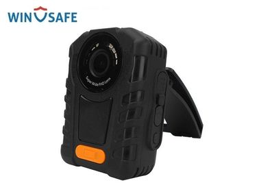China Video / Audio Body Worn Camera High - Definition 140 Degree Angle For Police distributor