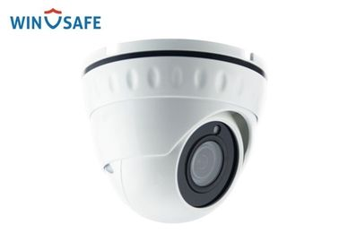 China Vandalproof Full HD IP Camera 3MP Lens With 20 Meters IR Distance / Internal POE factory